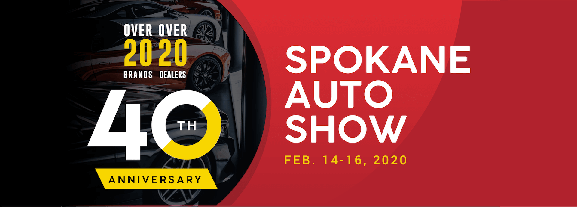 Spokane Auto Show 2020 Homepage Header